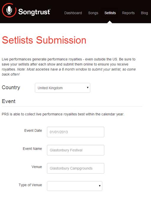 Setlist_Screenshot