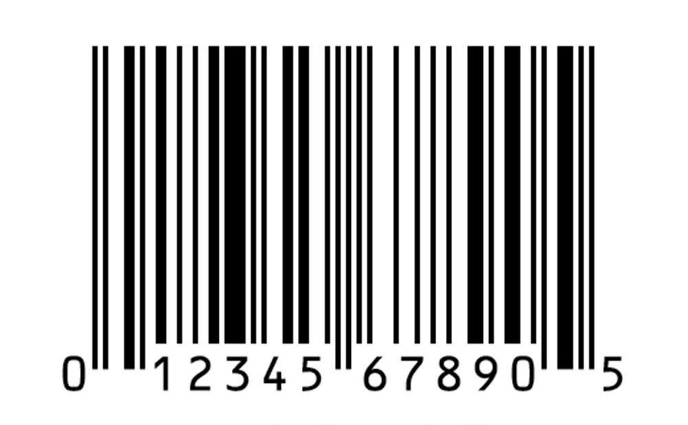 UPC code example-1